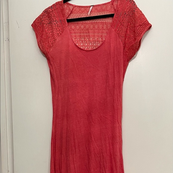 Free people maxi swimsuit cover up